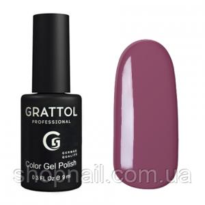 Grattol Gel Polish Red Dusty Purple №024, 9ml
