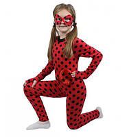 Детский костюм Леди Баг для девочек 3,4,5,6,7,8 лет. Карнавальный, современный Супергерои Герои в масках 343