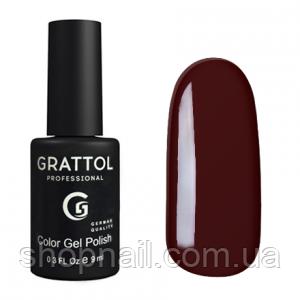 Grattol Gel Polish Brown №025, 9ml