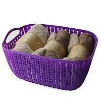Корзинка для полотенец плетение 2 л Bathlux Flor de clasico (70275)