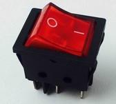 Кнопка KCD4-202 6ти контактов