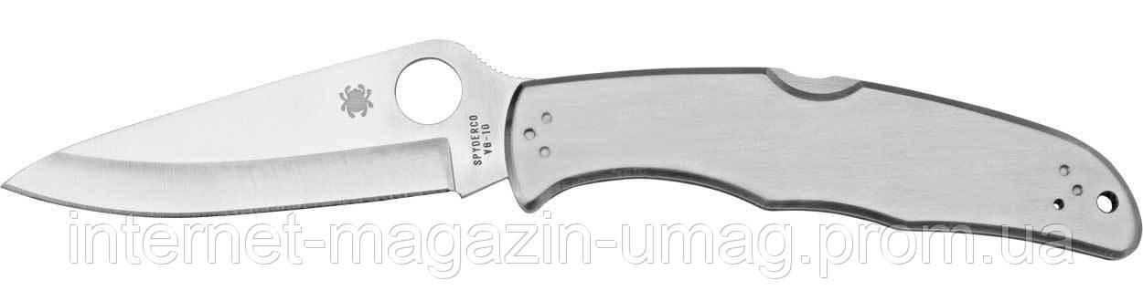 Нож Spyderco Endura, стальная рукоятка