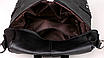 Рюкзак женский сумка кожзам с заклепками Vanesa Черный, фото 5