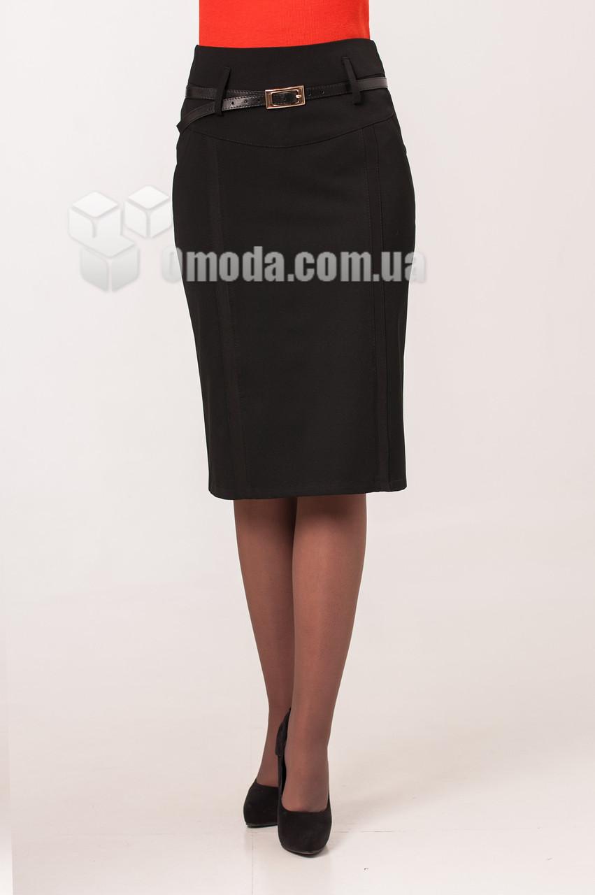 Женская юбка Лора черного цвета 44-54