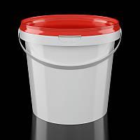 Ведро пластиковое круглое 1 литр, фото 1