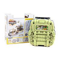 """Игровой набор """"Военный паркинг в рюкзаке"""" HC227700"""
