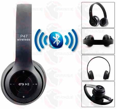 Навушники безпровідні bluetooth microSD Mp3 MDR P47 BT