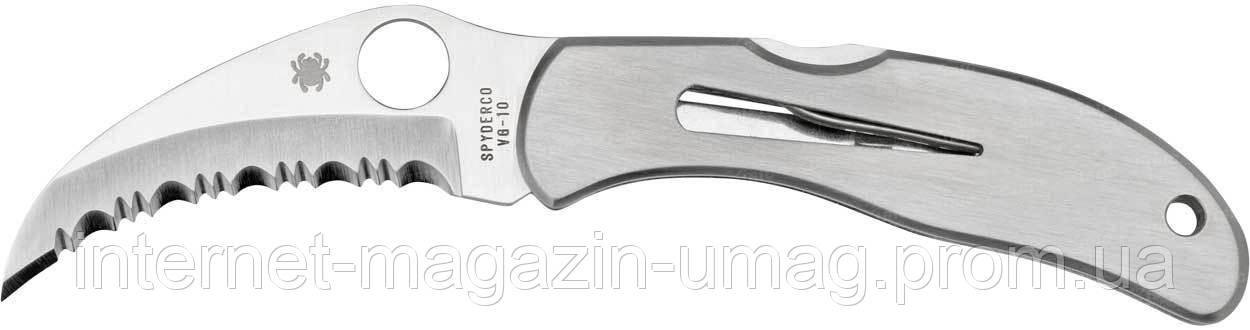 Нож Spyderco Harpy, серрейтор