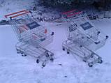 Торговые тележки 80 Л. Новые, тележки для супермаркета, тележки для покупателей., фото 4