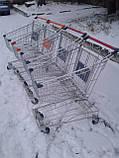 Торговые тележки 80 Л. Новые, тележки для супермаркета, тележки для покупателей., фото 2