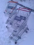 Торговые тележки 80 Л. Новые, тележки для супермаркета, тележки для покупателей., фото 5