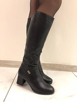 Зимові шкіряні чоботи Berloni F106