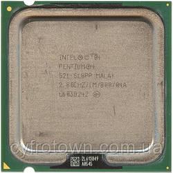 Процесор Intel Pentium 4 521 1x2.8 GHz S775