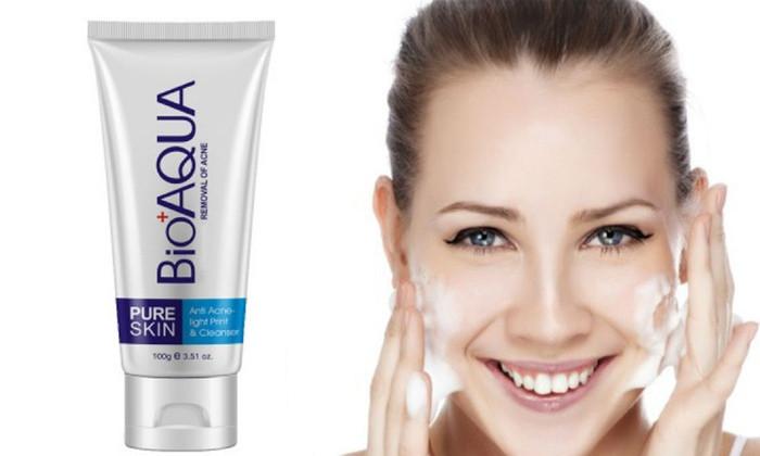 Пенка для умывания анти-акне для проблемной кожи BIOAQUA Pure Skin Anti Acne Cleanser 100 ml