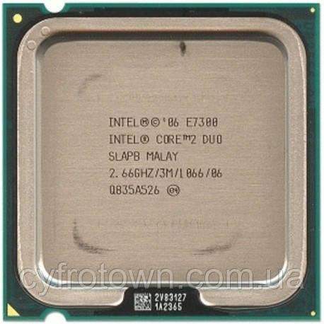 Процессор Intel Core 2 Duo E7300 2x2.66 GHz S775