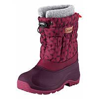 Зимние сапоги - сноубутсы  для девочки Reima 569329.8 - 3928. Размеры 26/27 - 30/31 ., фото 1