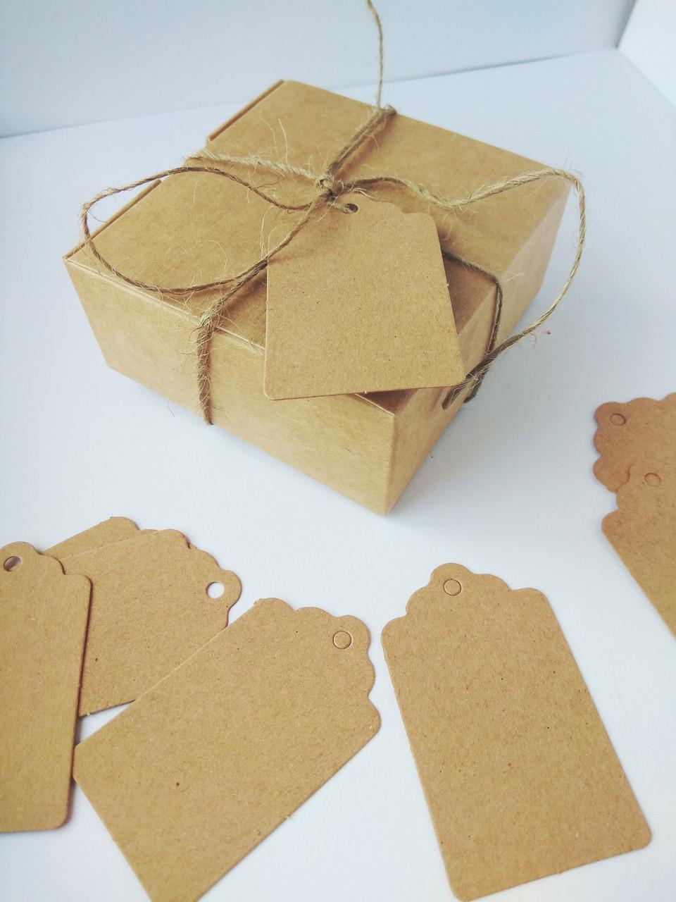 Бирка для подарков 1