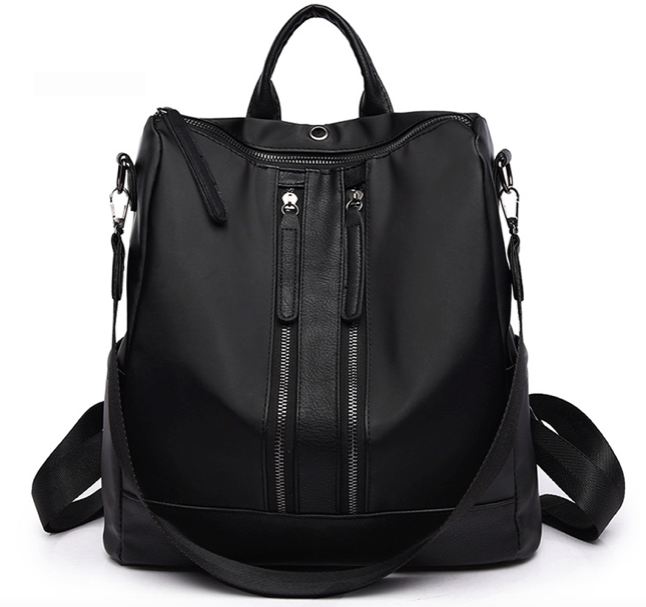 Рюкзак женский городской Gou сумка Черный