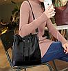 Рюкзак женский городской Gou сумка Черный, фото 5