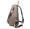 Рюкзак женский городской Gou сумка Черный, фото 7