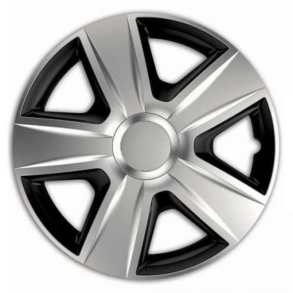 Ковпаки R15 Elegant Esprit Silver&Black