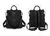Рюкзак женский городской Gou сумка Черный, фото 2