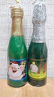 Свічка пляшка шампанського 18 см