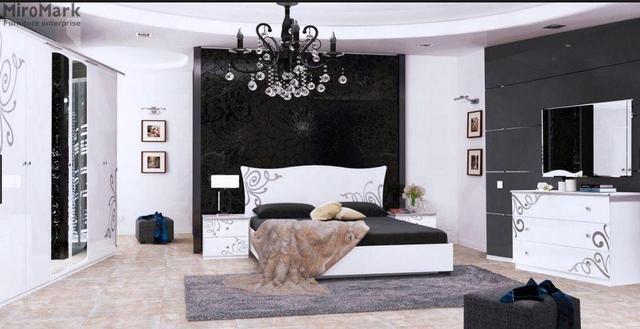 Спальня Богема Белая МироМарк