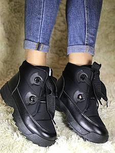 Женские зимние ботинки дутики