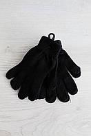 Набор перчаток женских черный AAA 0785