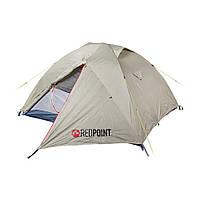 Палатка 3-х местная с 2-мя тамбурами на алюминиевом каркасе RedPoint Steady-3