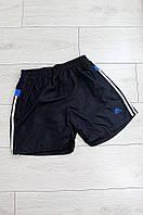 Шорты с подкладом темно синие Adidas 8809