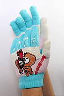 Перчатки детские девочка JY-17