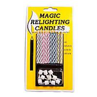 Свечи для торта Магические уп. 10 шт