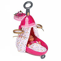 Раскладной чемодан для куклы Smoby Baby Nurse с аксессуарами  220316