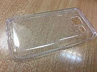 Силиконовый чехол-бампер для Samsung J1- J105 (Прозрачный)