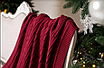 Плед 130x170 BETIRES TIROL BORDO (100% хлопок), фото 4