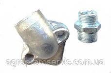 Фланец угловой маслинного насоса НШ-10 +штуцер кольца  , фото 3