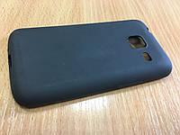 Силиконовый чехол-бампер для Samsung J1mini- J105 (Черный)