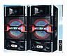 """Активная акустическая система колонки Ailiang USBFM-7011-DT,  50W, 10"""" дюймов, подсветк ( Реплика ), фото 2"""