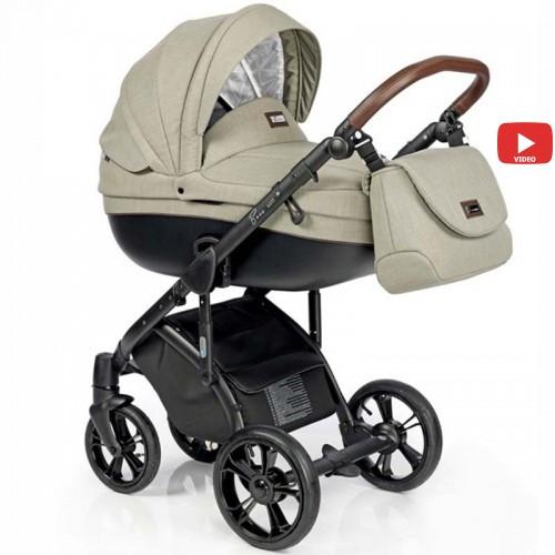 Детская коляска 2 в 1 Roan Bass Soft Basic Olive Garden
