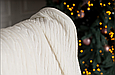 Плед 130x170 BETIRES TIROL ECRU (100% хлопок), фото 4