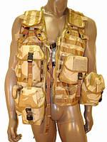 Военный разгрузочный жилет Assault Vest DDPM desert Англия
