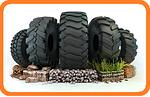 Шины для сельскохозяйственной, индустриальной техники и грузовиков