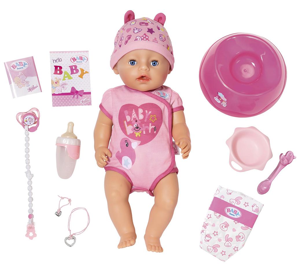 Кукла пупс Baby Born Нежные объятия Бэби Борн Очаровательная малышка 824368