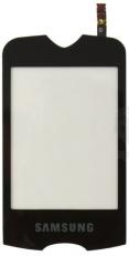 Сенсорный экран (тачскрин) Samsung S3370 чёрный orig