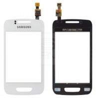 Сенсорный экран (тачскрин) Samsung S5380 Wave Y white