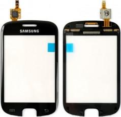Сенсорный экран (тачскрин) Samsung S5670 Galaxy Fit чёрный