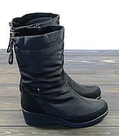 Короткие женские сапоги черные Prima D'arte, фото 1