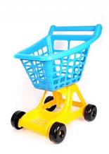 """Візок для супермаркету ігрова 4227 """"ТЕХНОК"""" синя"""
